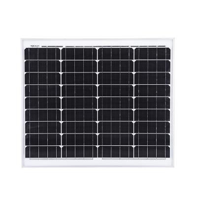 太阳能发电12v20W5v50W10W30W40单多晶硅古达小型家用光伏充电电池板 18V10W
