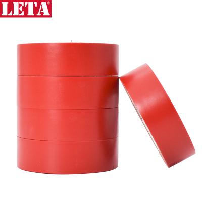 【苏宁自营】勒塔(LETA) 10米*5卷PVC电气绝缘胶带 红色电工胶布 无铅阻燃防水胶布耐高温耐磨LT-PPE541