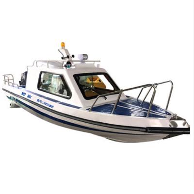 翱毓(aoyu)WH680型公務執法巡邏艇 游艇快艇巡邏船 釣魚巡邏漁船 抗洪救災指揮船 裸船不含外機