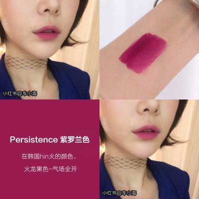 韩国3ce丝绒雾面唇釉女taupe砖红色 云朵谣言口红哑光梅子色正品 #PERSISTENCE紫罗兰色