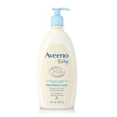 Aveeno 艾維諾嬰兒日常燕麥保濕嬰童潤膚保濕乳液 532ml 0歲以上