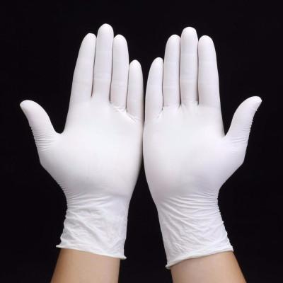 (YKZS)一次性手套医用乳胶加厚食品透明餐饮防水烘焙家务美容手套批发