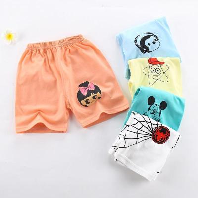 嬰兒童純棉短褲夏裝男童寶寶運動褲子寬松休閑五分褲女童沙灘褲薄 娜蜜雨(NAMIYU)