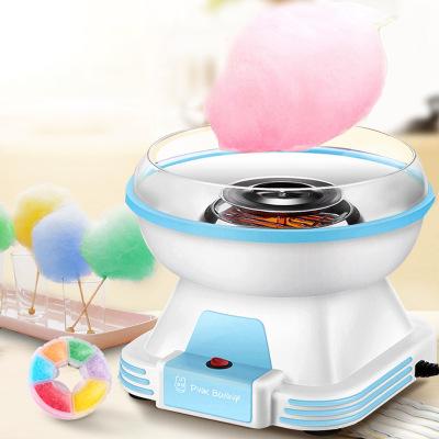 班尼兔棉花糖机儿童家用全自动棉花糖机器手工制作迷你花式彩糖 蓝色