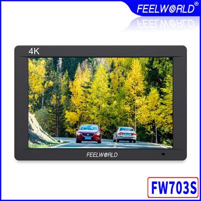 富威德FW703S攝像機SDI監視器7寸導演監視器4K微單反相機顯視器監視器