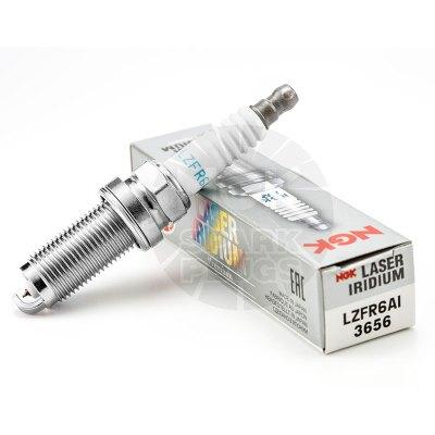 NGK銥合金火花塞LZFR6AI 3656 單支裝 適用于吉利EC7EC8和悅紳寶中華H530哈弗H6V80瑞風SDX7