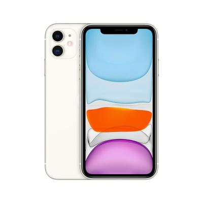 新款Apple/苹果iPhone 11 白色 128G 全网通智能4G手机 国行未激活正品