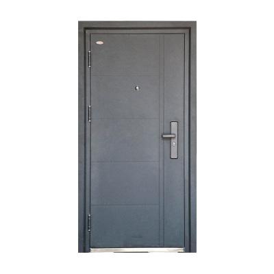 FUSIM富新雙色門 外黑內白 平板大門 進戶門 入戶門 雙面雙色 烤漆白