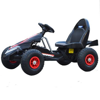 海蒂克魯兒童電動車四輪卡丁車雙驅雙電可坐寶寶遙控玩具汽車充氣輪沙灘車