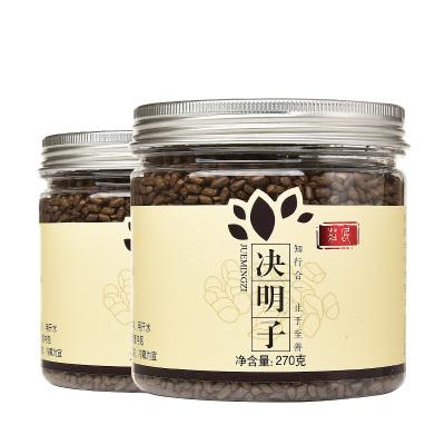 莊民 決明子270g*2罐 共540g 大顆粒炒熟 無雜質精選好貨 茶葉花草茶 決明子茶