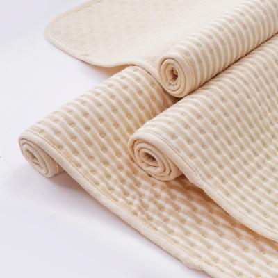 睿智媽媽(witmoms)嬰幼兒童隔尿墊成人月經墊防水防滑可洗透氣彩棉紗面料