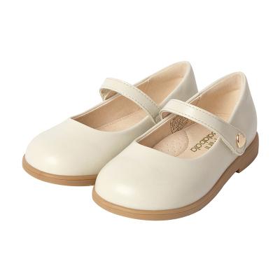 迷你巴拉巴拉兒童鞋子女童公主鞋2020春新款童鞋刺繡皮鞋軟底單鞋
