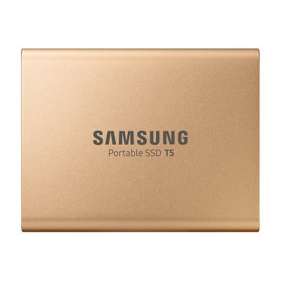 三星(SAMSUNG)移動固態硬盤PSSD T5 1TB USB 3.1 金色版