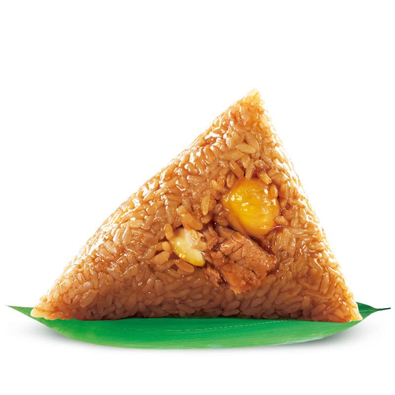 嘉兴特产五芳斋粽子 真空140克*2只板栗栗子鲜肉粽子