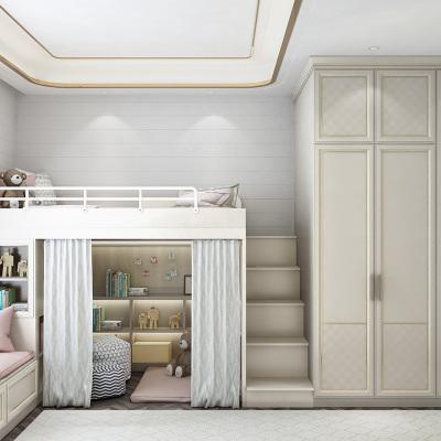 皮阿诺全屋定制儿童房上下床榻榻米双层床 儿童房间整体衣柜床特权定金