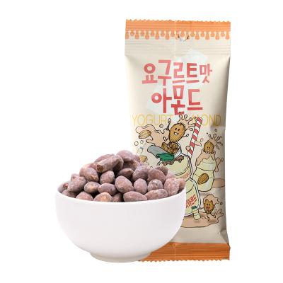 韓國進口Tom's Farm湯姆農場酸奶扁桃仁35g袋裝 杏仁巴坦木類休閑堅果零食