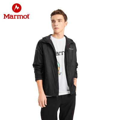 Marmot/土拨鼠2019秋冬新品运动户外防风吸湿排汗舒适男士皮肤衣神衣