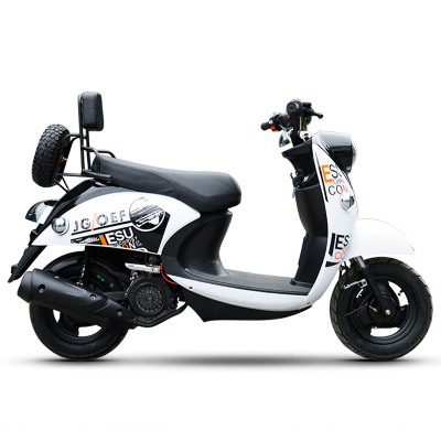 风感觉小龟王摩托车125CC踏板车燃油助力车男女款街车迅鹰新跑车可上牌