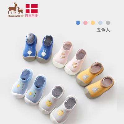 欧孕婴幼儿童袜子夏季薄款休闲中性宝宝软底学步袜男女童地板鞋袜