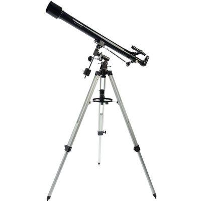 星特朗60EQ專業天文望遠鏡 高清高倍 學生成人 天地兩用折射式50-100mm赤道儀式