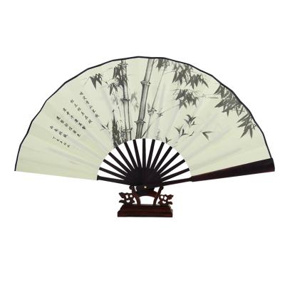 【10寸圖案隨機】峰惠扇子折扇古典中國風古風10寸復古折疊空白扇子綾絹扇折扇生活日用降溫用品扇子折扇