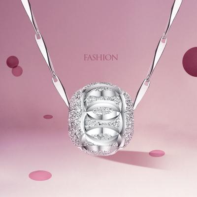佰色傳情(BRIR) S925銀項鏈銀幸運珠時尚流行簡約百搭風