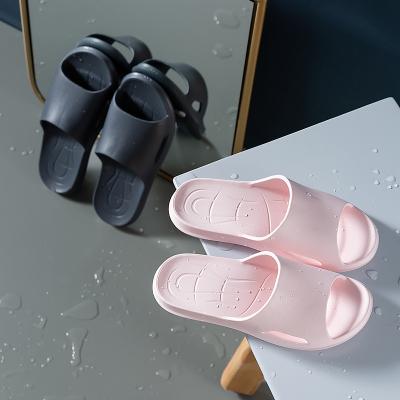 樸西新款情侶夏季拖鞋室內家用浴室防滑洗澡軟底靜音防臭拖鞋女抗菌不臭腳3517
