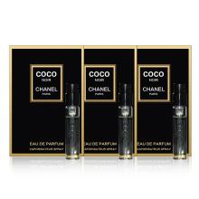 香奈儿(Chanel) 香水试管香水小样套装女 可可小姐黑色香水 2ml*3