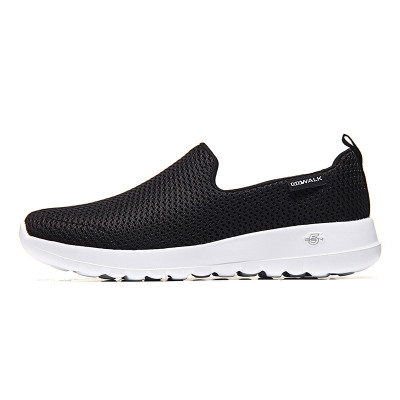 【自營】Skechers斯凱奇女鞋健步鞋舒適網布懶式硬地運動鞋15600綜合訓練鞋/室內健身鞋 黑色