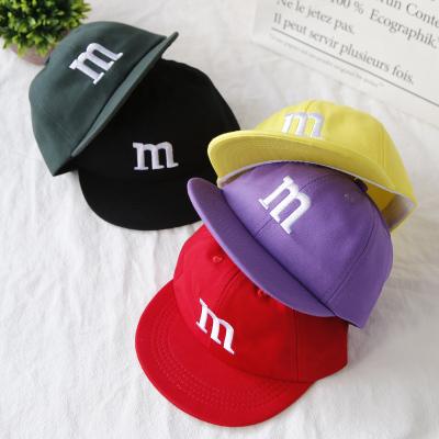 熱賣新款兒童帽子春秋季男女童遮陽帽潮寶寶鴨舌帽百搭刺繡字母棒球帽