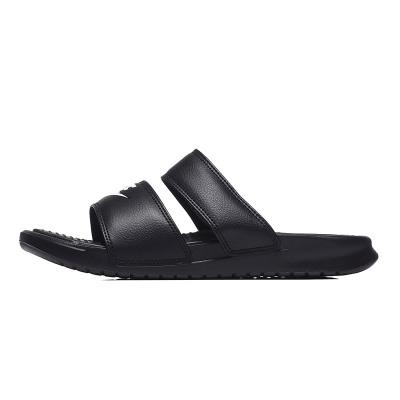 【自營】NIKE耐克女鞋拖鞋黑白綁帶時尚潮搭忍者沙灘鞋819717.. 819717-010黑+白