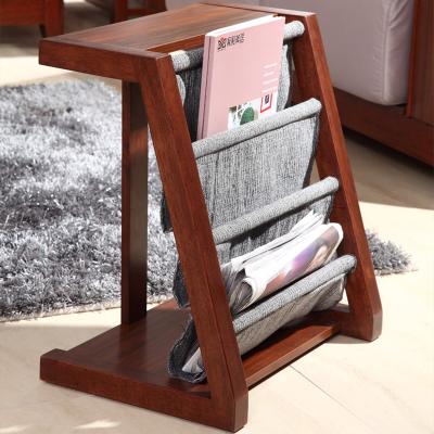 御品工匠 高檔實木雜志架 中式報刊架 報紙架 展示架 書報架K0482