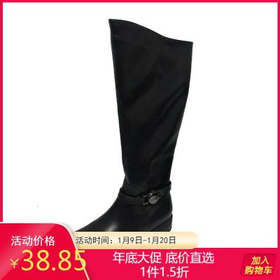 达芙妮旗下SHOEBOX/鞋柜 冬休闲学院裙靴骑士靴高筒百搭女长筒靴