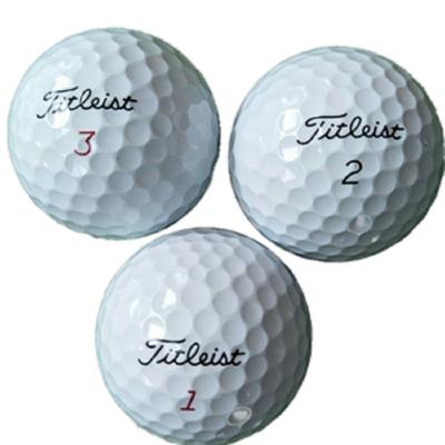 星客士 高爾夫球titleistprov1v1x3層球4層球20顆裝二手球50顆裝高爾夫球