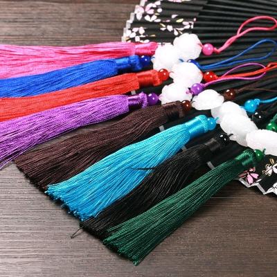 伞坠扇坠流苏穗子吊穗古风_中国风折扇女挂件装饰_复古典diy材料 紫色