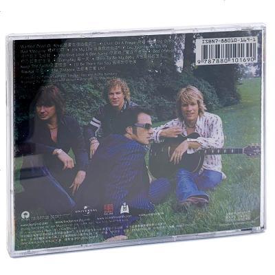 正版 邦·喬維:新歌+精選 Bon Jovi CD唱片+歌詞本 歐美流行音樂