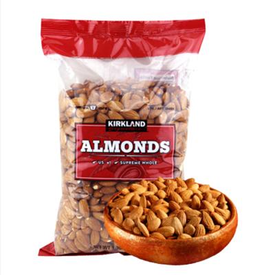 美國進口科克蘭Kirkland 扁桃仁1360g   原味生大杏仁堅果零食巴旦木