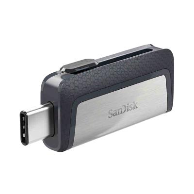 閃迪(Sandisk)32GB U盤 Type-C接口 至尊高速手機電腦兩用雙接口OTG內存擴容 灰色