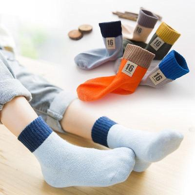 儿童袜子春秋季宝宝袜棉袜男童女童中筒袜运动袜学生薄款小孩短袜 莎丞