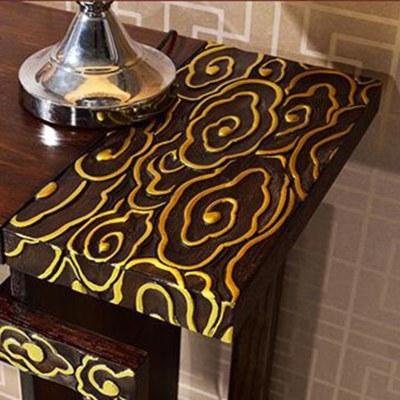 顾致新中式玄关台简约现代客厅餐边柜实木玄关桌条案禅意装饰边柜定制
