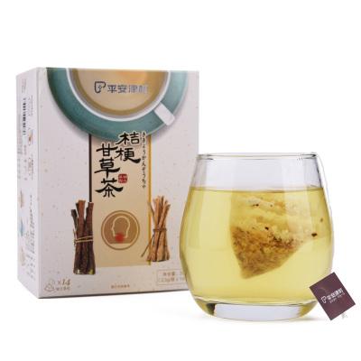 平安津村桔梗甘草茶 14袋/盒 千年古方 精心調配 桔梗 甘草 道地原材 品質上乘