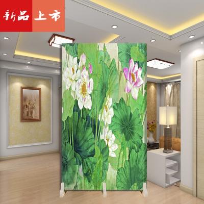 臥室浴室客廳隔斷中式擋床的屏風裝飾防水折疊可移動小戶型省空間 三維工匠