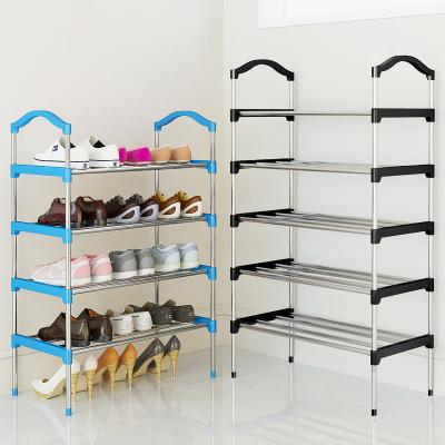 法耐(FANAI)鞋架多層簡易家用組裝防塵收納柜布鞋柜省空間宿舍小鞋架子