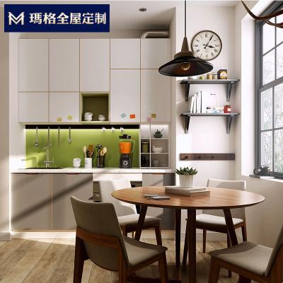 玛格厨房橱柜全屋定制 餐边柜定做现代简约厨柜整体定制