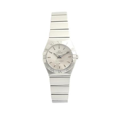 【二手95新】歐米茄OMEGA星座系列123.10.24.60.02.001女表石英奢侈品鐘手表腕表
