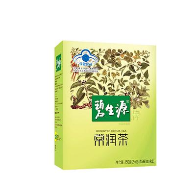 碧生源常潤茶 特惠60袋(2.5g/袋*15袋/盒*4盒)
