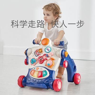 babycare 寶寶學步車手推車多功能益智嬰兒學步車學走路助步車玩具7908 珀粉