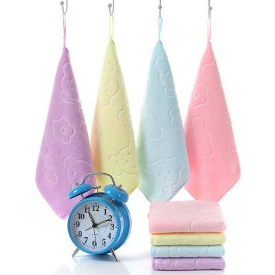 嬰兒毛巾口水巾寶寶小方巾兒洗臉巾洗澡巾超兒童手帕