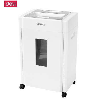 得力deli9904碎紙機 電動辦公靜音大功率自動光盤文件紙粉碎機4級保密