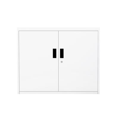 富路达 文件柜金属办公柜铁皮柜凭证柜档案柜资料柜带锁财务柜纯白